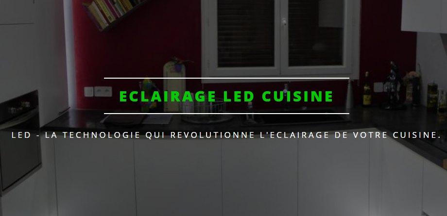 reglette led cuisine